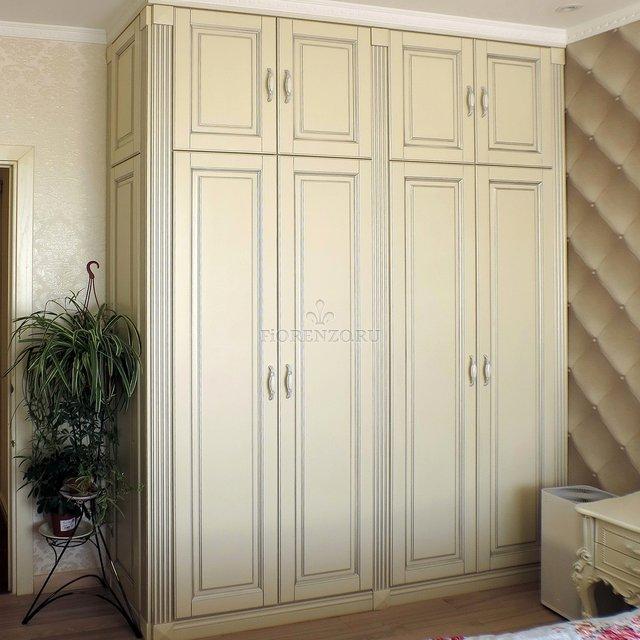 Шкаф четырех-створчатый для спальни