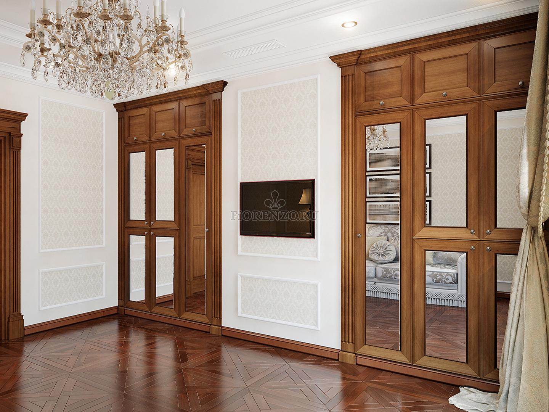 Встроенные шкаф для гостиной
