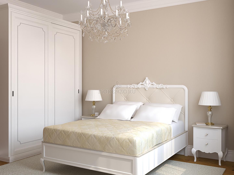 Белый шкаф-купе в спальню