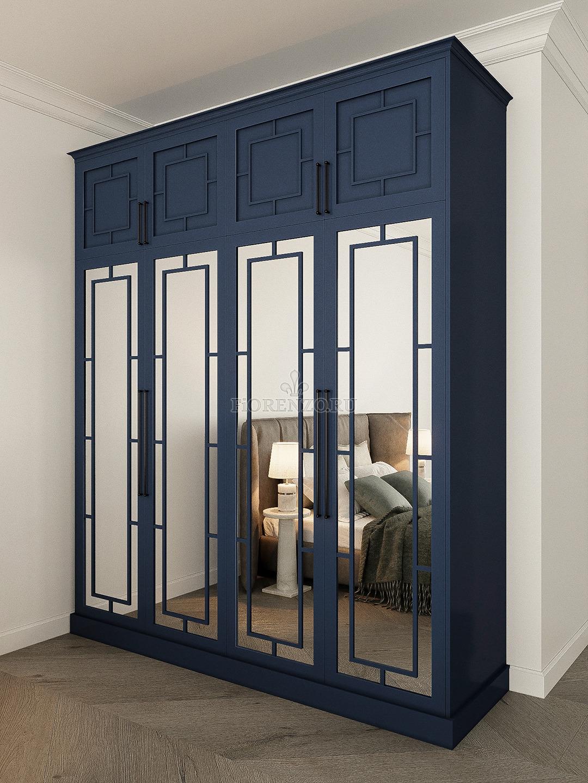 Шкаф для спальни неоклассик