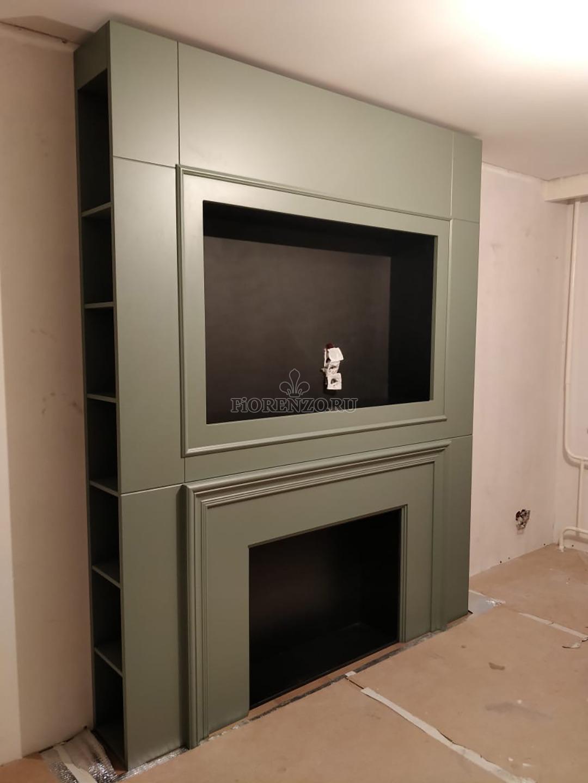 Шкаф консоль под камин и телевизор
